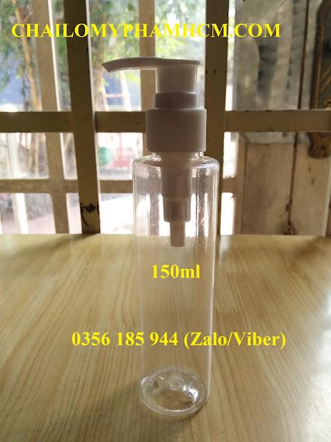 Chai nhựa vòi nhỏ giọt 150ML