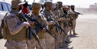 Rudal Teroris Syiah Houthi Targetkan 'Pertemuan Tentara Saudi' di Sepanjang Perbatasan