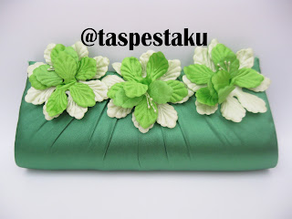 Koleksi ready stock terbaru tas pesta hijau