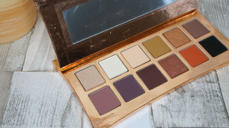 beauty, illamasqua, vanitas, rose gold, palette, eyeshadows, review