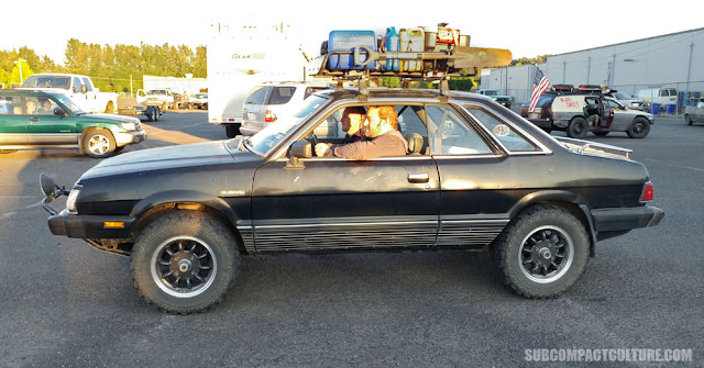 Lifted Subaru coupe