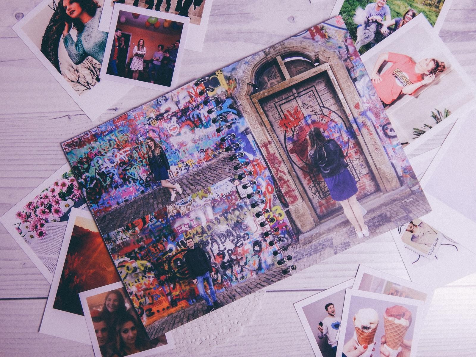 4 fotozeszyt saal digital zeszyt na zdjęcia a5 na sprężynie fotoksiązka photobook recenzja test fotozeszytu tanie wywoływanie zdjęć online melodylaniella polaroidy