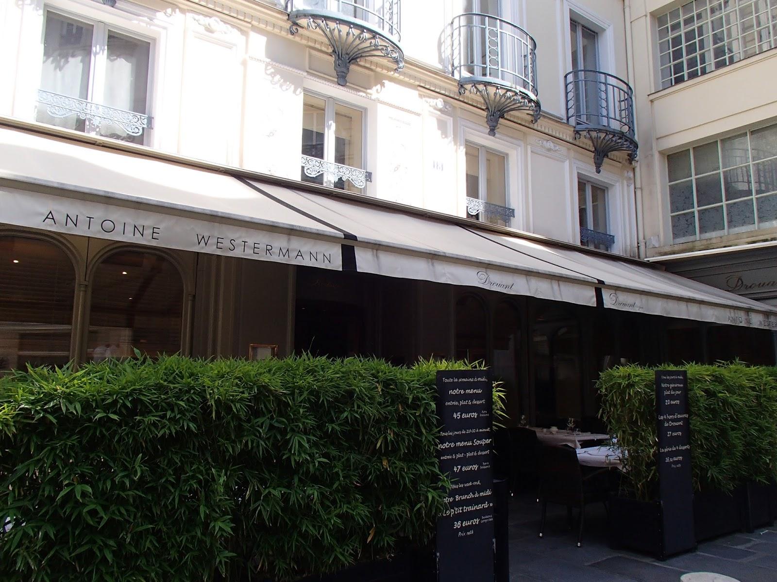 Restaurant Prix Goncourt Opera