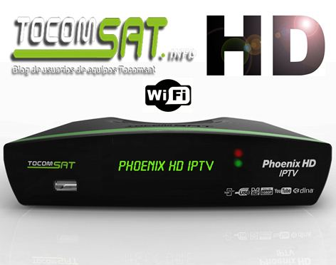 TOCOMSAT PHOENIX IPTV NOVA ATUALIZAÇÃO V02.035 - 30/04/2017