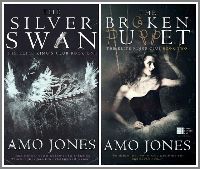 """""""Egy játékot akarunk játszani. Ez történik, ha veszítesz."""" - Amo Jones: The Silver Swan - Elit King's Club 1."""