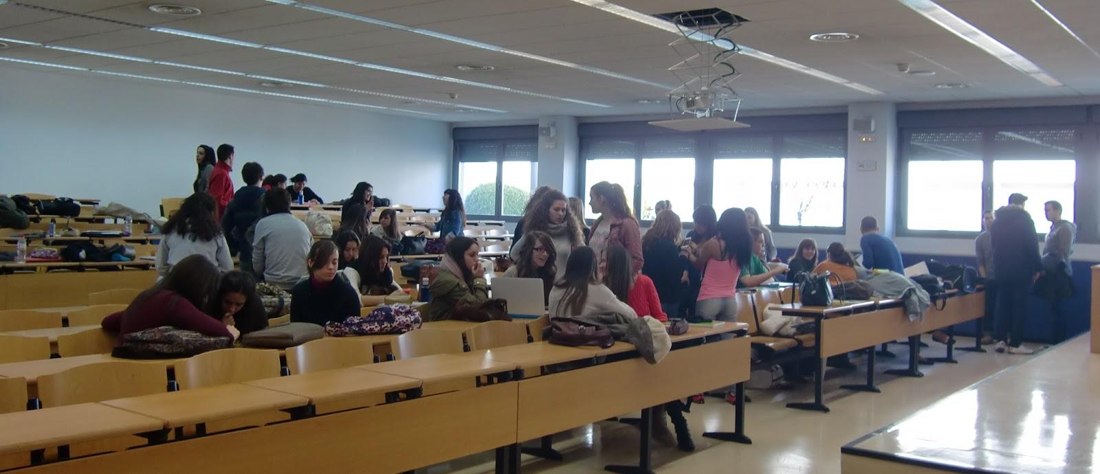 Universidad Del Este >> AulaSurURJC: La huelga de estudiantes tiene un bajo seguimiento en el campus de Fuenlabrada