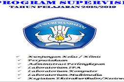 Program Supervisi Kepala Sekolah Tahun 2018
