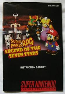 Super Mario RPG - Legend Of The Seven Stars - Manual delante