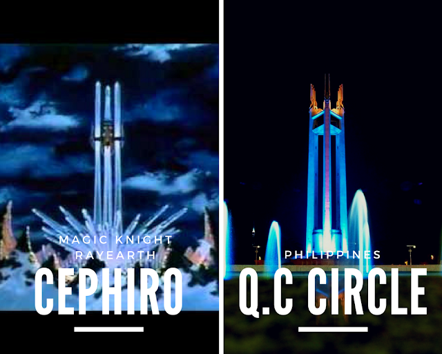Cephiro Magic Knight Rayearth Quezon City Memorial Circle, anime in real life