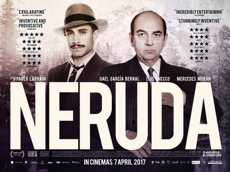Neruda UK poster