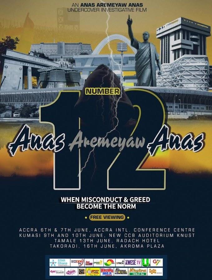 Anas' new exposé to shame top politicians, administrators