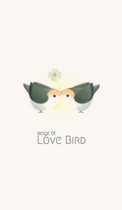Love bird/beige 01
