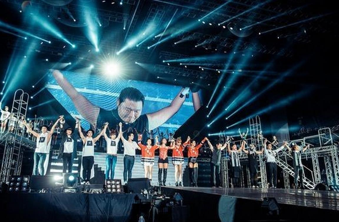 PopinSe7en: [PICS] 2011 YG Family Concert - Group photos!