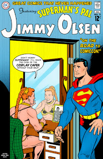 Superman And Cosplaying Jimmy Olsen