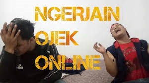 Ngerjain ojek online demi youtube