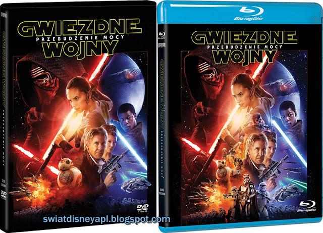 Gwiezdne Wojny na Blu-ray i DVD - Informacja prasowa