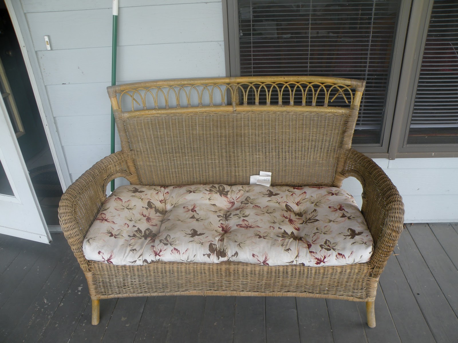 diy wicker chair cushions accent rocking chairs our lakeside retreat furniture makeover