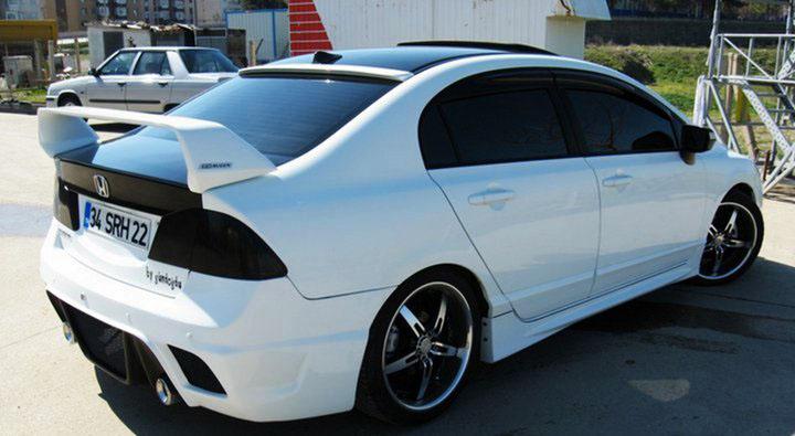 Modified Cars: Honda Civic Reborn