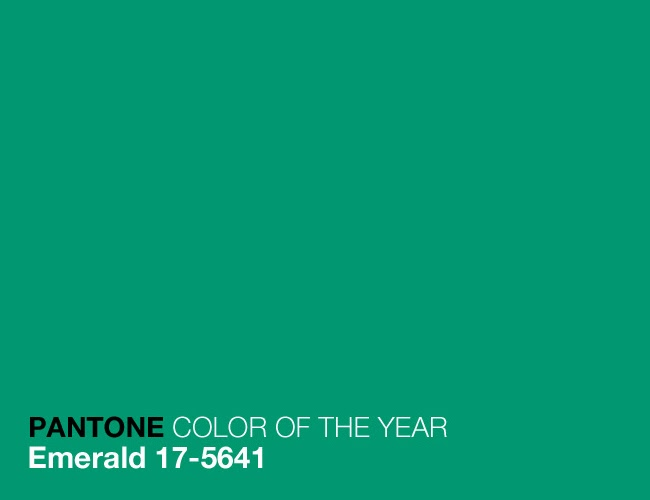 Emerald Green Has Definitely Been The Cinderella Of Color Ball This Year 17 5641 Was Chosen As Pantone For 2017