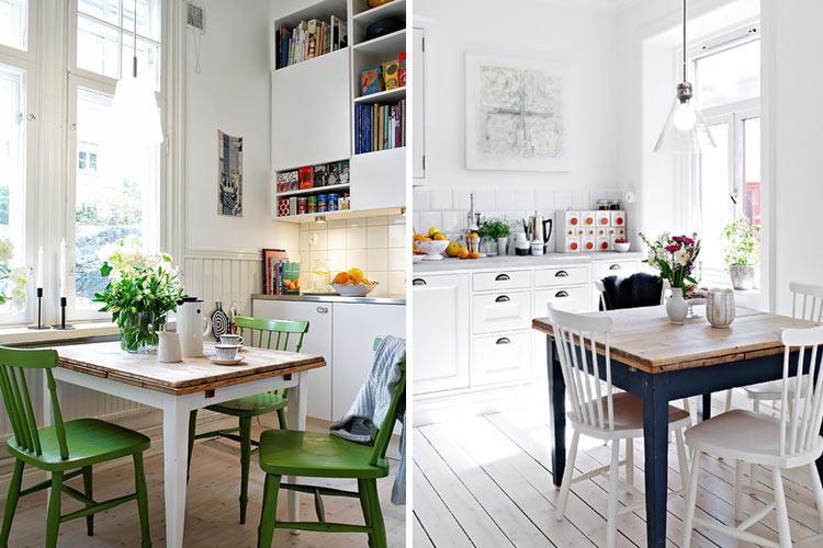 Mesas de comedor mesas de comedor cuadradas extensibles for Como amueblar un living comedor pequeno