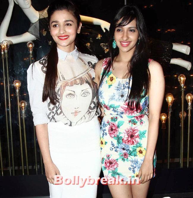 Alia Bhatt, Alia, Parineeti at Launch of Fashion Brand Diva`ni