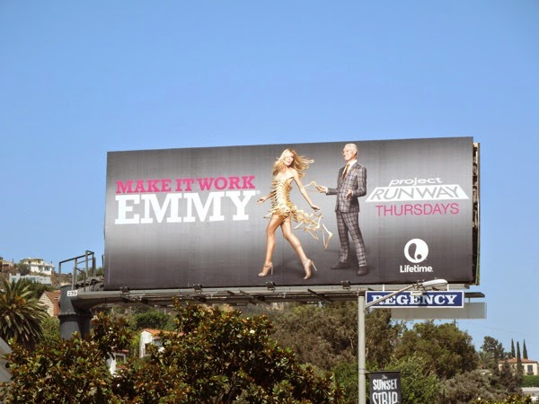 Project Runway 13 Make It Work Emmy billboard