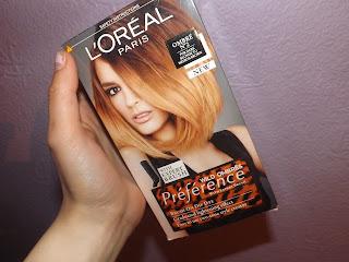 Ombré hair dyeing kit