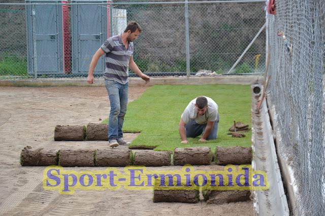Πρασινίζει το γήπεδο Κρανιδίου
