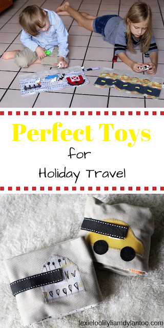 Perfect Toys for Holiday Travel from Mouse Loves Pig #travel #travelwithkids #toys #roadtripideas #traveltoys {@mouselovespig PARTNER}