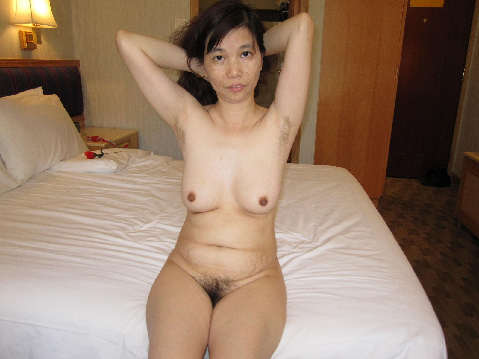 Drunk asian wife naked