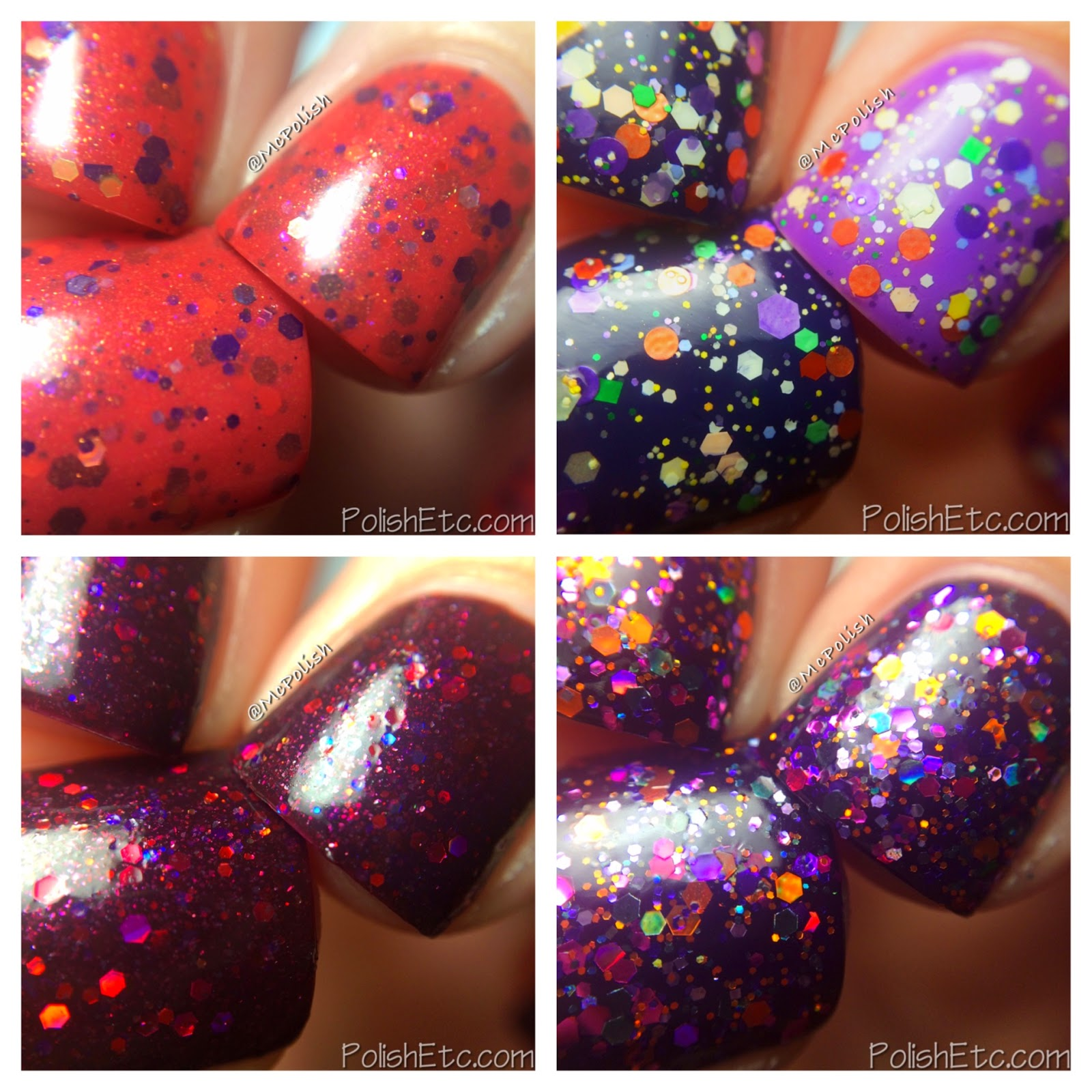 Laquerlicious Halloween 2014 Collection - McPolish