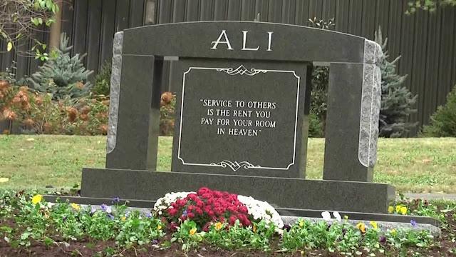 Grave of Muhammad Ali