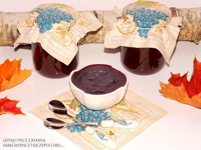 Czeko - dżem winogronowy z nutką wanili i cynamonu.