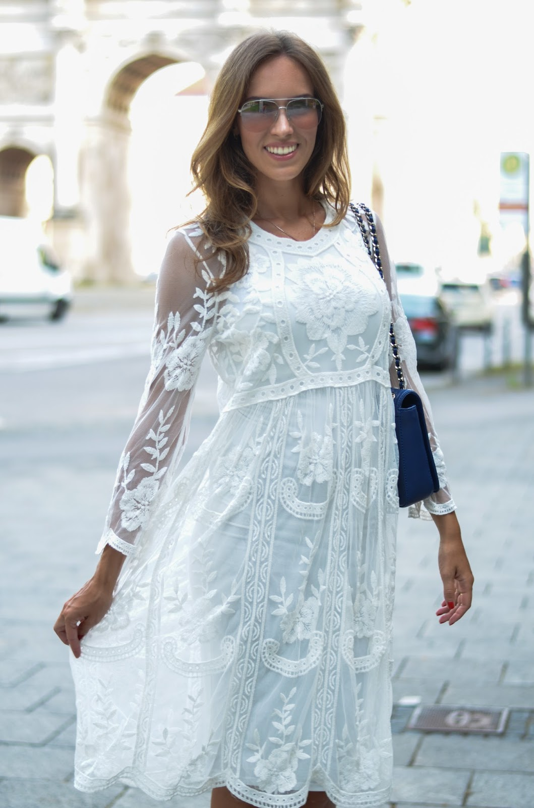 kristjaana mere german fashion blogger white dress outfit