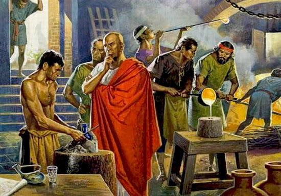 Il vetro romano romanoimpero.com
