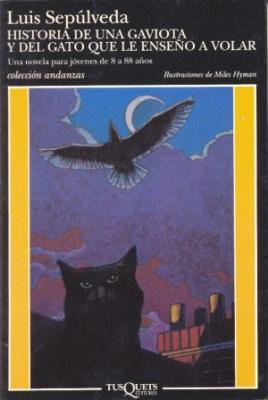 Copos de papel: Historia de una gaviota y del gato que le
