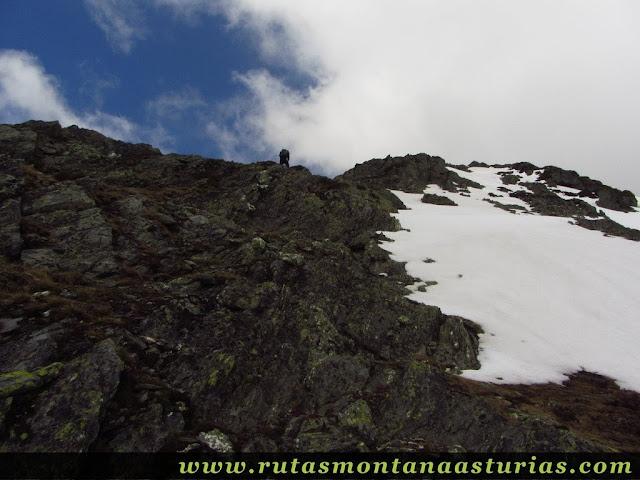 Terreno rocoso en Peña Trevinca