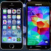 """IPHONE 5S VS. GALAXY S5"". CARACTERÍSTICAS: ¿CUÁL PREFIERES?"