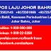 POS LAJU JOHOR BAHRU Business Card
