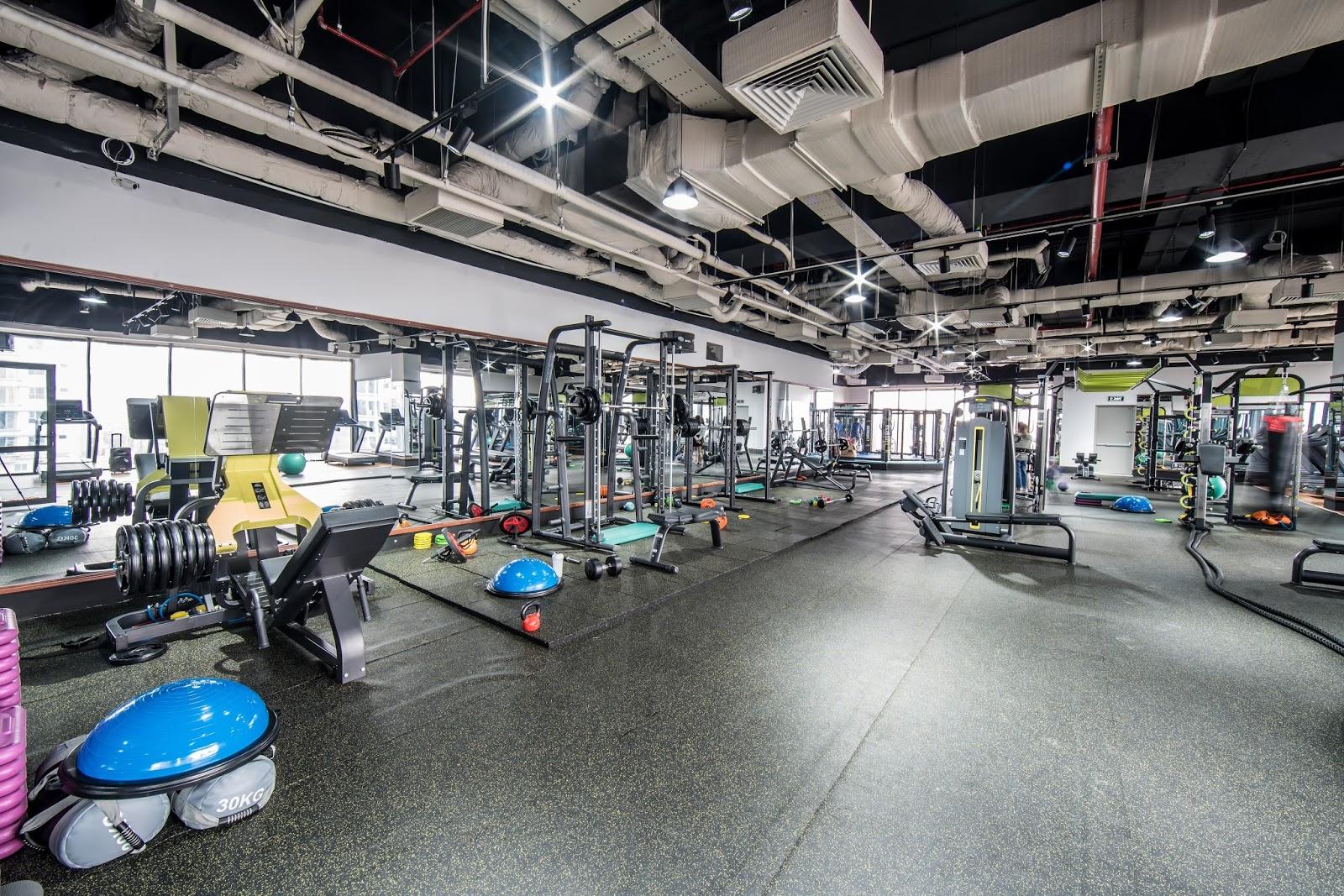 Phòng tập Gym tại Goldmark City