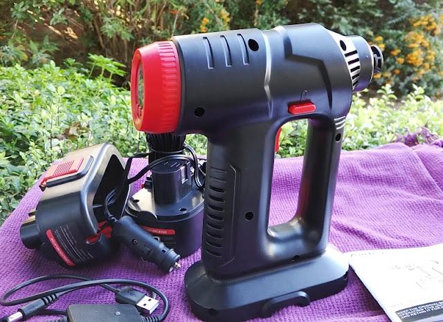 Audew 12V Cordless Digital Inflator Gun
