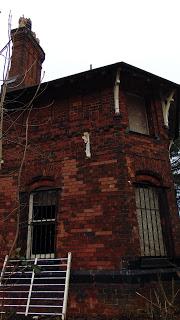 Queens Park gatehouse near Harpurhey
