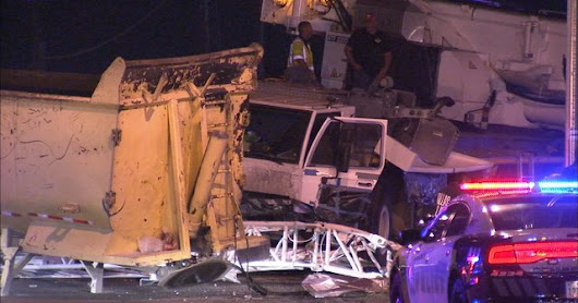 Huge Crane Involved In Fatal Dallas Crash