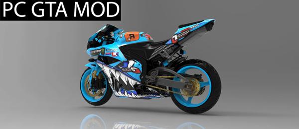 Free Download  Honda CBR600RR  Mod for GTA San Andreas.