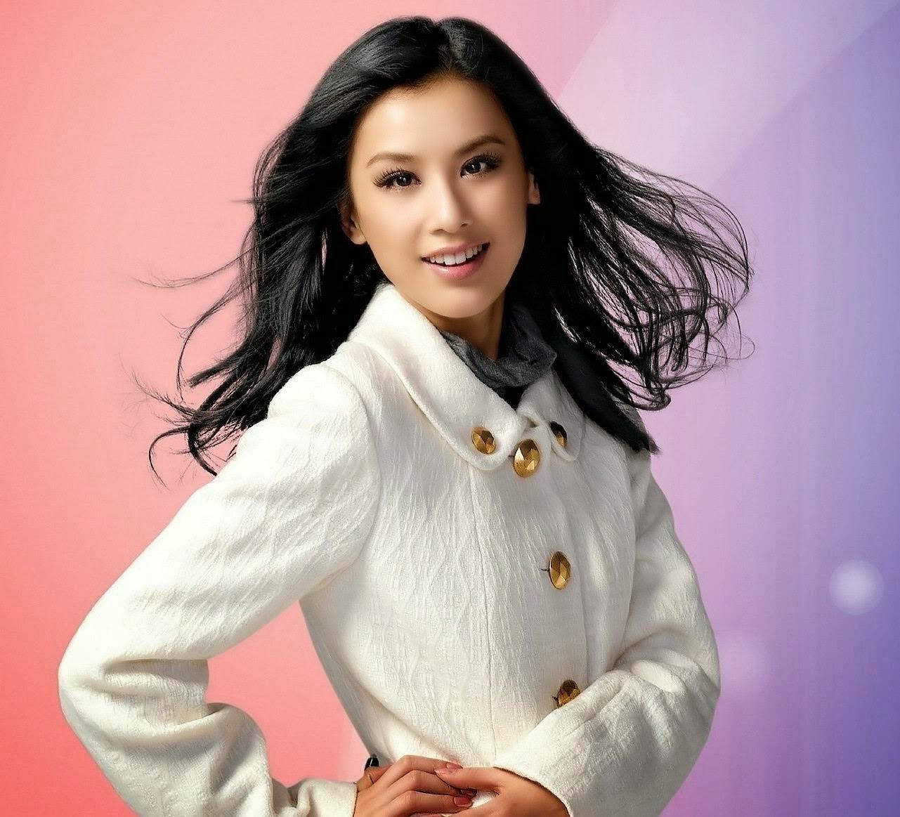 Chinese actress Huang Shengyi | Wedding dresses lace