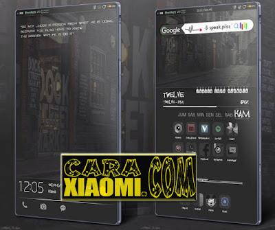 Screenshoot Tema MIUI Capitalism V46 Mtz Untuk Xiaomi Update Theme