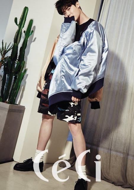 李鍾碩替時尚雜誌《CéCi Korea》拍攝畫報公開