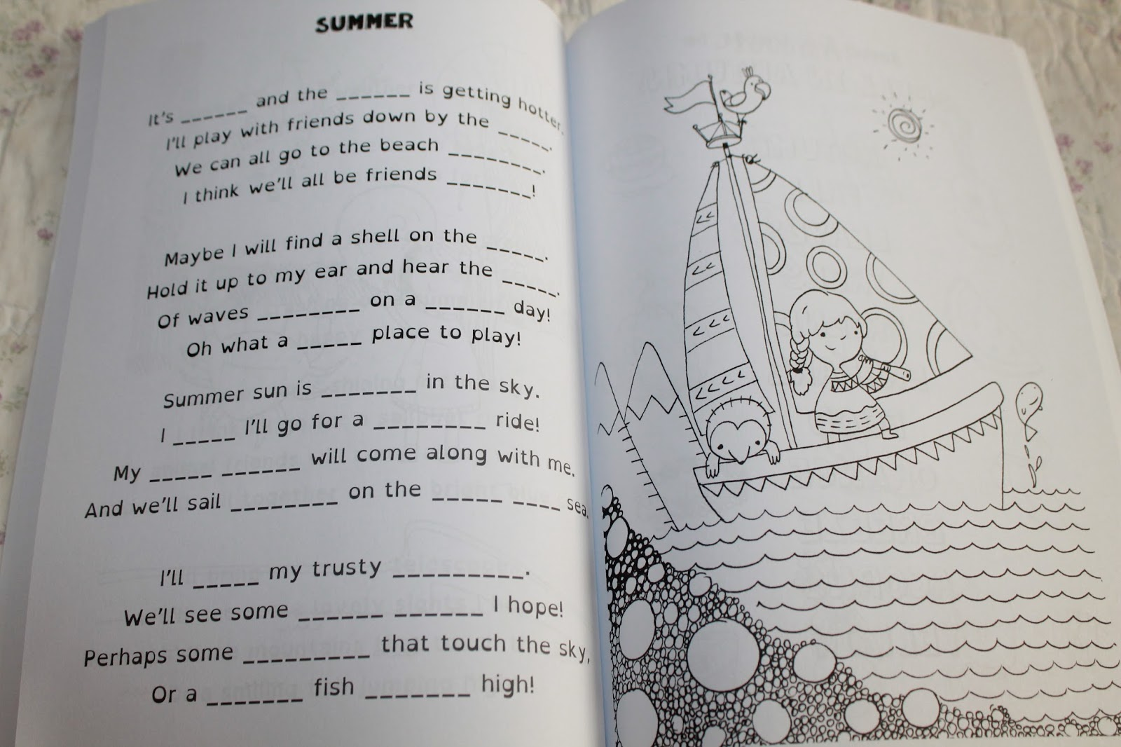 The Four Seasons Spelling Time Book B Review - Homeschooling 6
