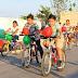 Ciclovía de Kanasín festeja a los niños en su día