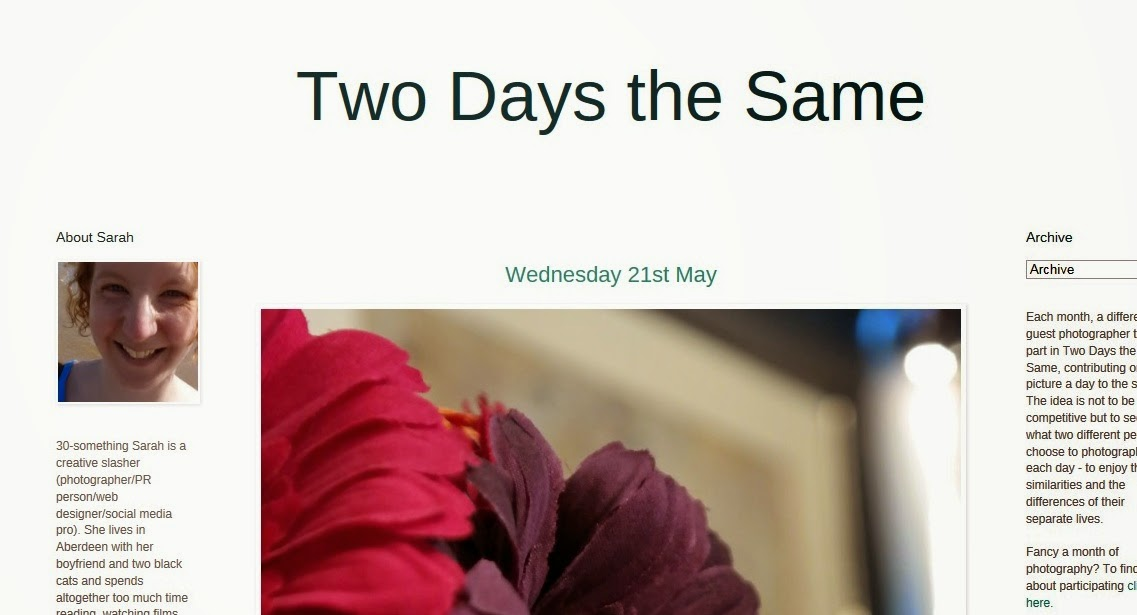 Two Days the Same Blog